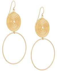 Petite Grand - Sun And Moon Espiral Earrings - Lyst