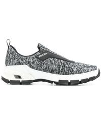 Prada - Knitted Slip-on Sneakers - Lyst