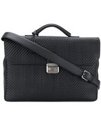 Ermenegildo Zegna - Woven Laptop Bag - Lyst