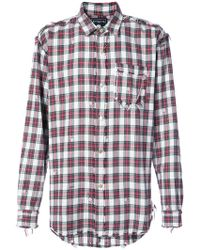 Mastermind Japan - Checked Shirt - Lyst