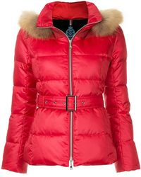 Guild Prime - Fur Hood Trim Puffer Jacket - Lyst
