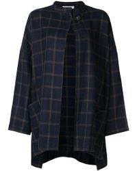 Dusan - Checked Cardi-coat - Lyst