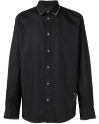 John Richmond - Spike Stud Embellished Shirt - Lyst