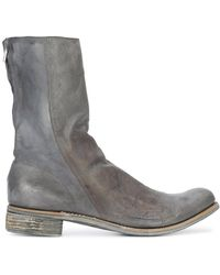 A Diciannoveventitre - Kangaroo Distressed Boots - Lyst