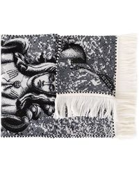 Y. Project - Jacquard Knit Scarf - Lyst