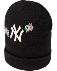 Gucci - Wool Hat With Ny Yankeestm Patch - Lyst 038d4e90a98