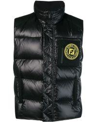 Fendi - Zipped Padded Jacket - Lyst