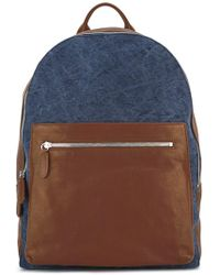 Eleventy - Leather Backpack - Lyst