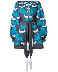 Yuliya Magdych - Kalynia Embroidered Dress - Lyst