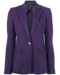 Les Copains - Classic Fitted Blazer - Lyst