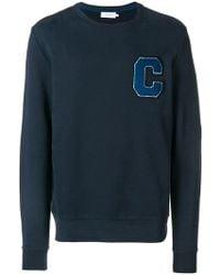 Calvin Klein - Terry Logo Sweatshirt - Lyst