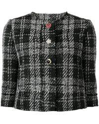 Liu Jo - Checked Jacket - Lyst