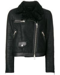 DROMe - Off-centre Zipped Jacket - Lyst