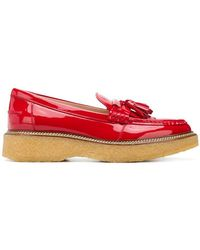 Tod's - Tassel Detailed Loafers - Lyst