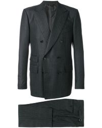 Tom Ford - Completo Gessato - Lyst