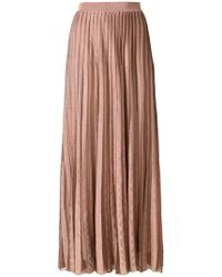 Antonino Valenti - Long Pleated Skirt - Lyst