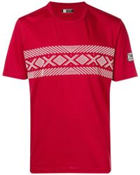 Z Zegna - Cable Print T-shirt - Lyst