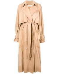 Golden Goose Deluxe Brand - Double Breasted Trench Coat - Lyst