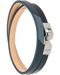 Northskull - Double Wrap Bracelet - Lyst