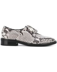 Coliac - Sally Snake-print Derby Shoes - Lyst