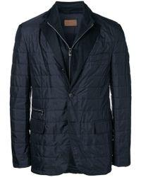 Corneliani - Zipped Fitted Jacket - Lyst