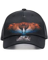 d9a8ee7e8c7 Marcelo Burlon - County Of Milan Black Starter Wings Baseball Cap - Lyst
