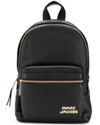 Marc Jacobs - Logo Zipped Backpack - Lyst