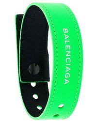Balenciaga - Bracelet à Logo - Lyst