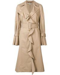 Stella McCartney Ruffled Coat