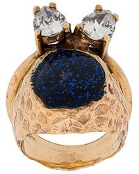 Voodoo Jewels - Studded Glitter Ring - Lyst