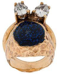 Voodoo Jewels - Studded Glitter Ring - Lyst
