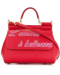 e0a20ed3153a Dolce   Gabbana - Sicily Shoulder Bag - Lyst