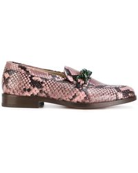 PS by Paul Smith - Snakeskin Effect Loafers - Lyst