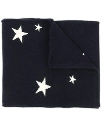 Chinti & Parker - Stars Knitted Scarf - Lyst