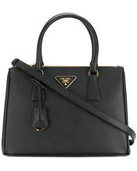 Prada - All Designer Products - Bibliotheque Large Tote Bag - Lyst