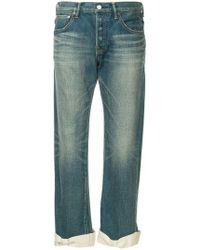 Tu Es Mon Tresor - Ankle Ribbon Antique Jeans - Lyst