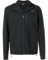 The North Face - Logo Print Hoodie - Lyst