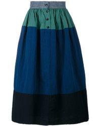 Visvim - A-line Panel Skirt - Lyst