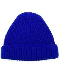 Maison Margiela - Ribbed Knit Beanie - Lyst