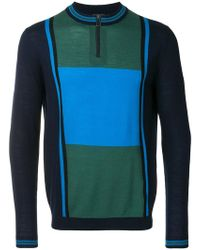 PS by Paul Smith - Colour Block Jumper - Lyst