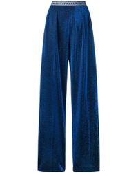 Marco De Vincenzo - Metallic Trousers - Lyst