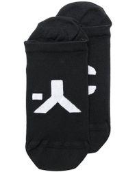 Y-3 - Branded Ankle Socks - Lyst