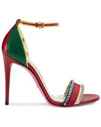 0776b0e5466 Lyst - Women s Gucci Stilettos and high heels On Sale