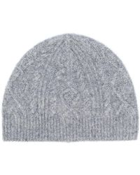 Pringle of Scotland - Cable Stitch Beanie - Lyst