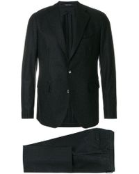 Tagliatore - Speckled Finish Two Piece Suit - Lyst