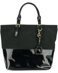 Ralph Lauren - Dual Panel Tote Bag - Lyst