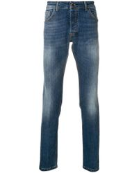 Entre Amis - Slim Faded Jeans - Lyst