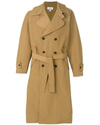 Sunnei - Belted Trench Coat - Lyst
