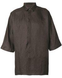 Haider Ackermann - Jacquard Effect Shirt - Lyst