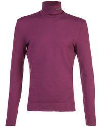 CALVIN KLEIN 205W39NYC - Turtleneck T-shirt - Lyst